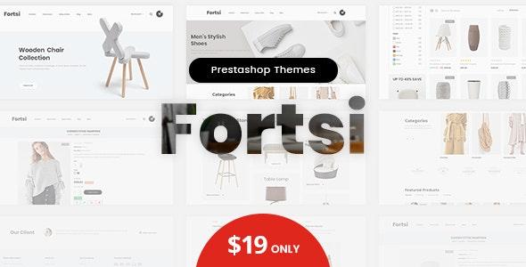 Fortsi - Prestashop 1.7 Minimal Responsive Theme - Miscellaneous PrestaShop