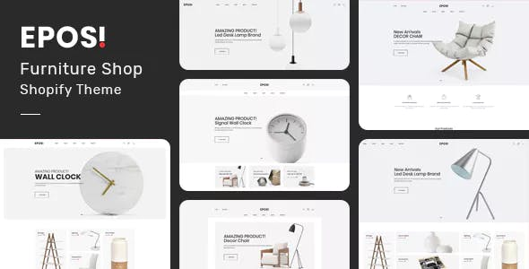 Eposi - Furniture Store Shopify Theme nulled theme download