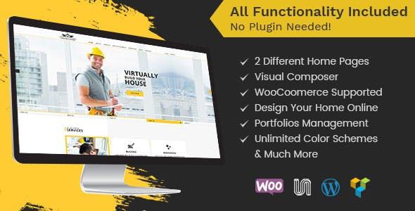 Constructioner - Construction Business WordPress Theme