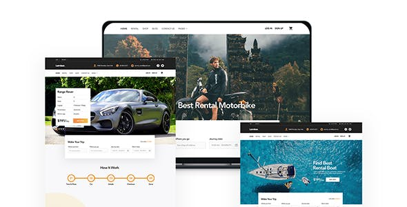 Cars And Bikes Website Templates From Themeforest