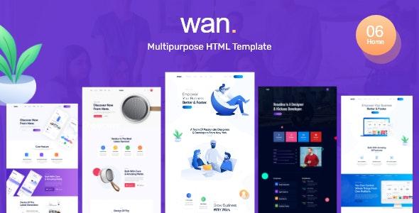 Wan - Creative Business Agency - Creative Site Templates
