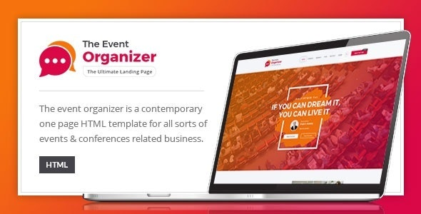 Event Organizer - HTML Template for Conferences - Events Entertainment