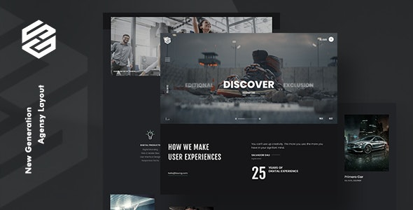 Tourog | Creative Agency WordPress Theme - Portfolio Creative