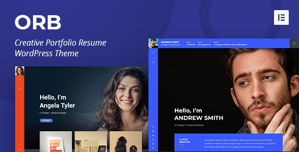 ORB - Creative Portfolio WordPress Theme - Portfolio Creative