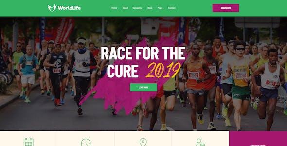 Worldlife - Nonprofit & Charity WordPress theme