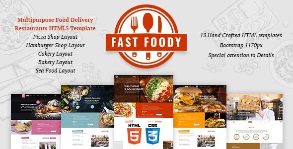 Fast Foody - Multipurpose Restaurants HTML5 Template