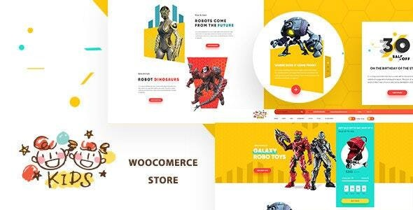 Kids - Baby Shop & Store WooCommerce Theme - Children Retail