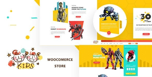Kids - Baby Shop & Store WooCommerce Theme