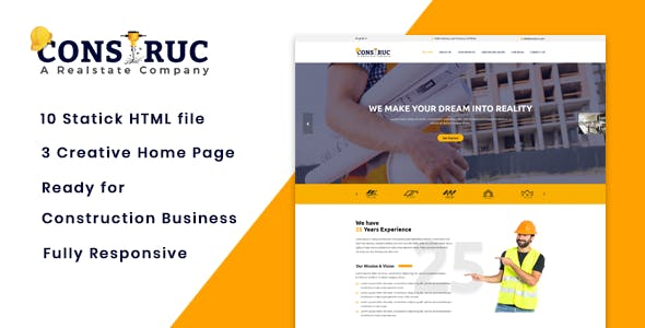Download Construc - Business & Construction Jekyll Theme