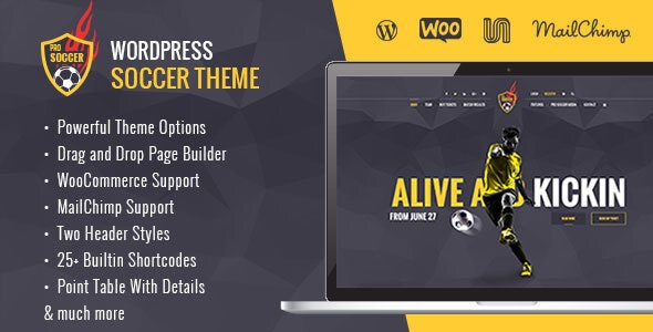 Soccer Acumen - Football Club WordPress Theme - Nonprofit WordPress