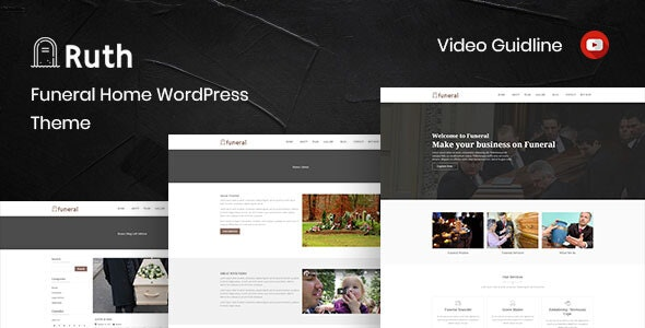 Ruth - Funeral Home WordPress Theme - Business Corporate