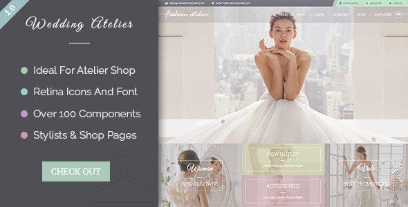 Wedding Atelier - PSD - Fashion Retail