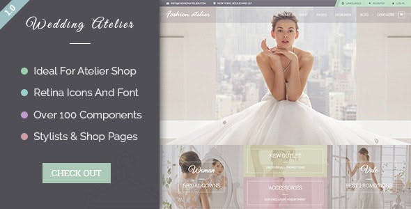 Wedding Atelier - PSD