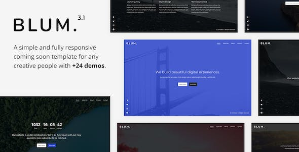 Clock Templates from ThemeForest