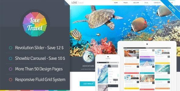 Love Travel - HTML - Travel Retail