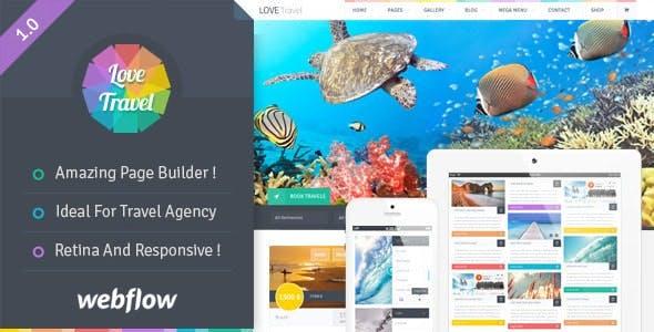 Love Travel - Webflow