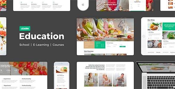 Education Learning - HTML