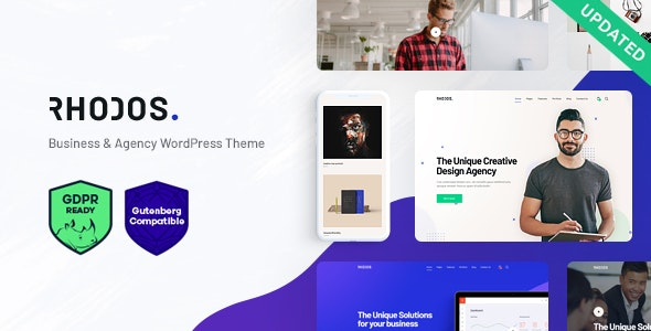 Rhodos - A Colossal Multipurpose WordPress Theme for Business & Portfolio - Business Corporate