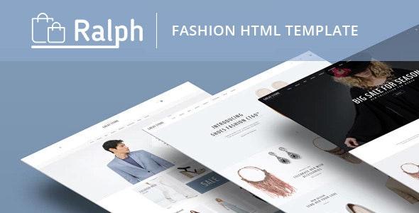 Ralph - Fashion Minimal eCommerce HTML Template - Fashion Retail