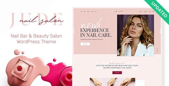 Jude | Nail Bar & Beauty Salon WordPress Theme - Health & Beauty Retail