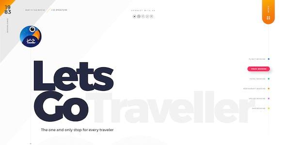 Let's GO Traveller 2 | A Multipurpose PSD Template