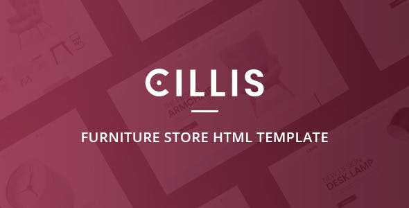 Cillis - Furniture Store HTML Template nulled theme download