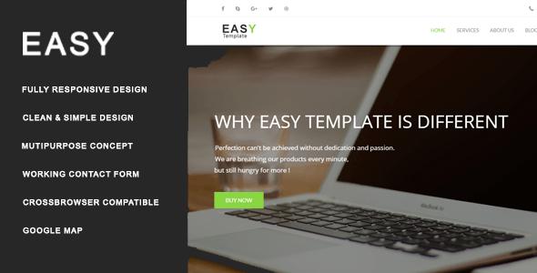 Easy - Multiuse HTML Template