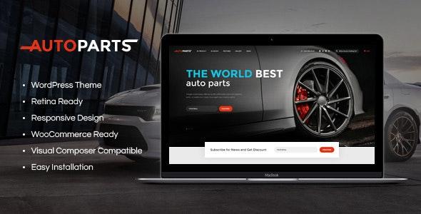 Car Parts Store & Auto Services WordPress Theme - Retail WordPress