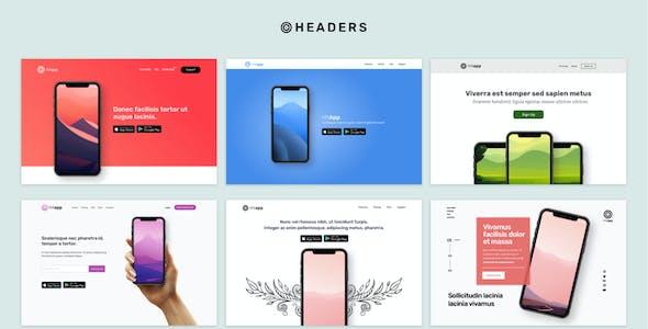 HitApp App Landing Page UI Kit