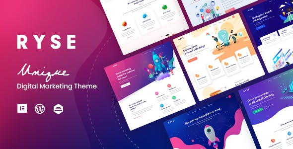Ryse - SEO & Digital Marketing Theme nulled theme download