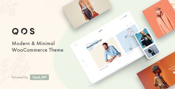 QOS - Minimal Fashion WooCommerce WordPress Theme nulled theme download