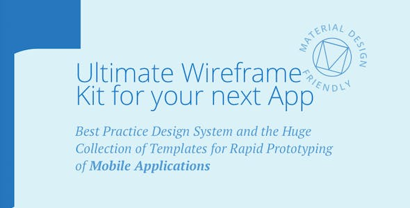 Tapky 1 | Wireframe UI Kit - 140 Sketch Templates for Your Next Android App