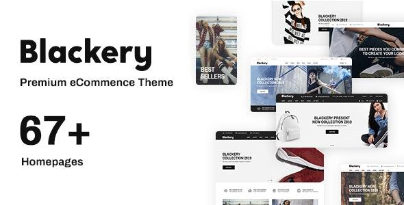 Blackery - Multipurpose Responsive Shopify Theme - Fashion Shopify