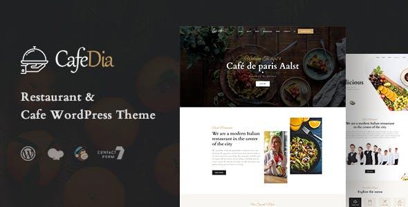 CafeDia - Restaurant WordPress Theme nulled theme download