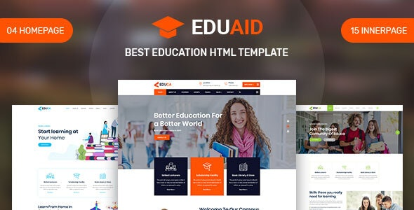 Eduaid - Education HTML5 Template - Miscellaneous Site Templates