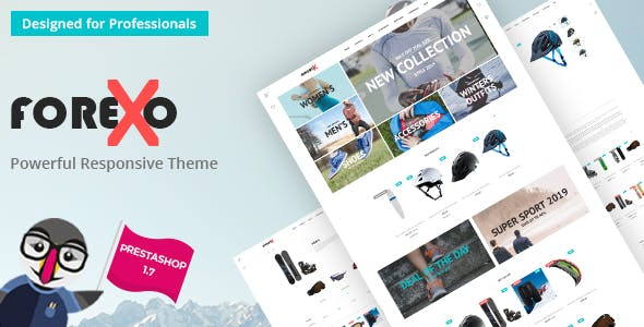 Forexo - Sports Apparel and Equipment Store nulled theme download