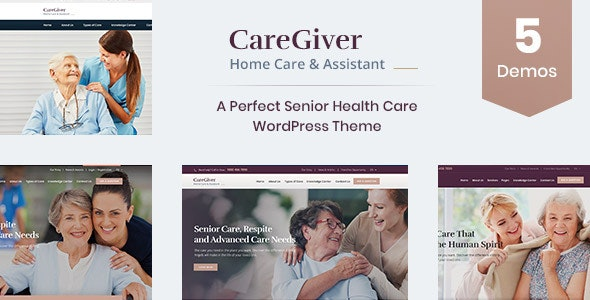 Giver - Senior Care WordPress Theme - Health & Beauty Retail
