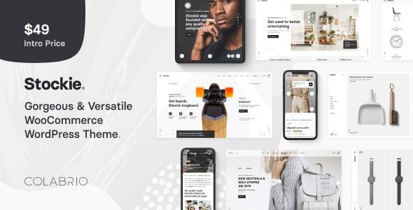 Stockie - Multi-purpose Creative WooCommerce Theme - WooCommerce eCommerce