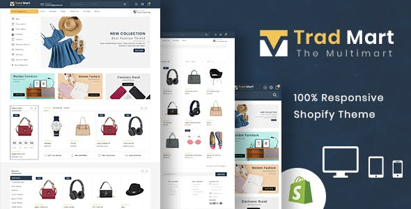 Tradmart - Shopify MultiPurpose Responsive Theme nulled theme download