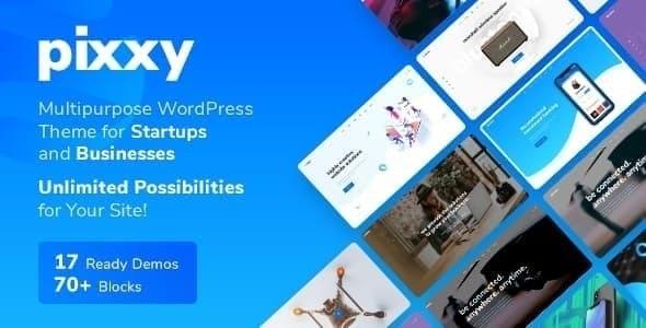 Pixxy  - Software Startup WordPress theme - Software Technology