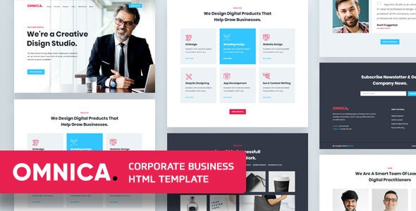 Omnica - Corporate Business Template - Business Corporate