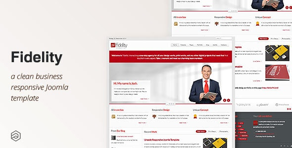 Fidelity - Responsive Business Joomla Template - Business Corporate