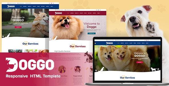 Doggo - HTML5 Template - Business Corporate