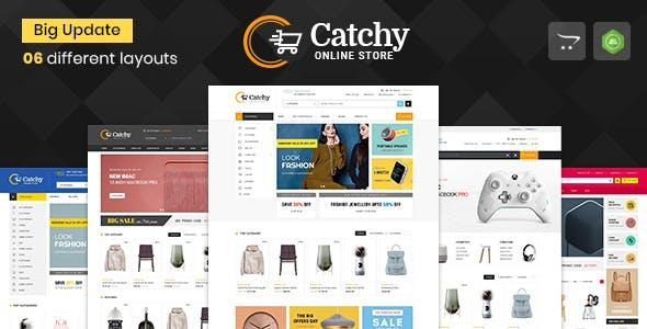 Catchy - Multipurpose OpenCart 3 & 2 Theme