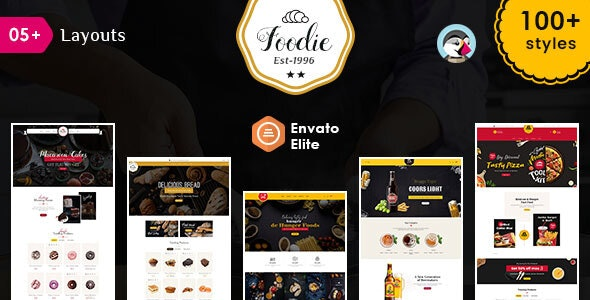 Foodie - Prestashop Multi-Purpose Responsive Theme - Miscellaneous PrestaShop
