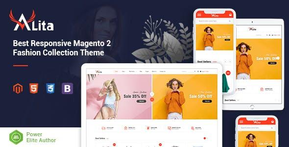 Alita - Responsive Magento 2 Fashion Store Theme nulled theme download