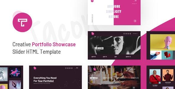 Tacon - A Showcase Portfolio HTML Template - Portfolio Creative