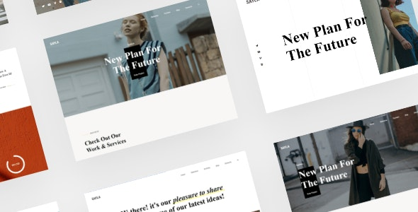 SAYLA - Personal Portfolio and Resume HTML5 Template - Personal Site Templates