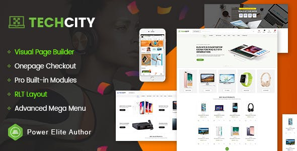 OpenCart Android App Website Templates from ThemeForest