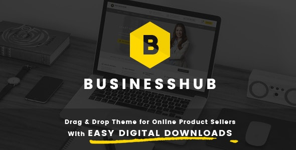 Business Hub | Responsive WordPress Theme For Online - Business Corporate